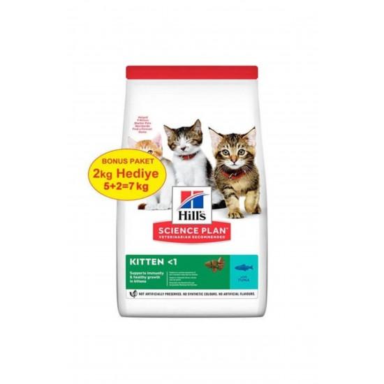 Hill's Kitten Ton Balıklı Yavru Kedi Maması 5+2= 7 KG