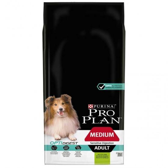 Pro Plan Sensitive Digestion Adult Kuzu Etli Orta Irk Yetişkin Köpek Maması 14 KG Köpek Ürünleri