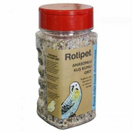 Rotipet Anasonlu Kuş Kumu Grit 300 gr Kuş Yemleri