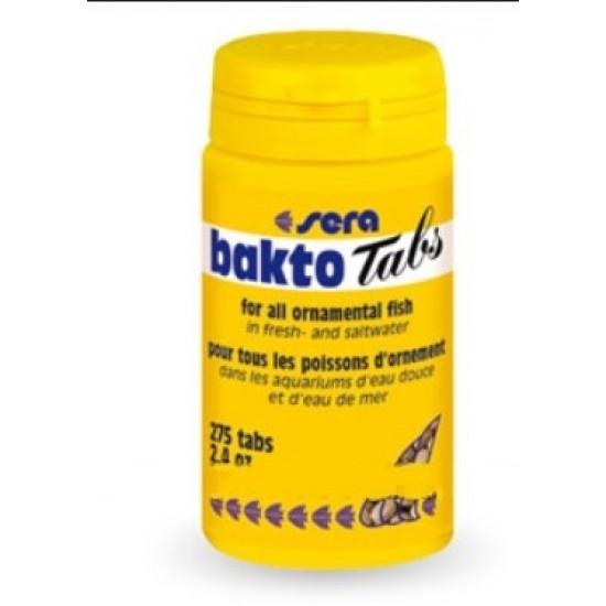 Sera Bakto Tabs 68 gr 275 Tablet Balık Yemleri