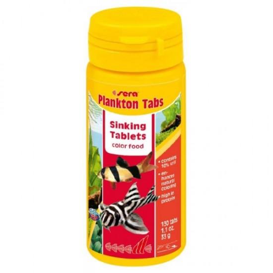 Sera Plankton Tabs Vatoz Yemi 65Gr 130 Tablet Balık Yemleri