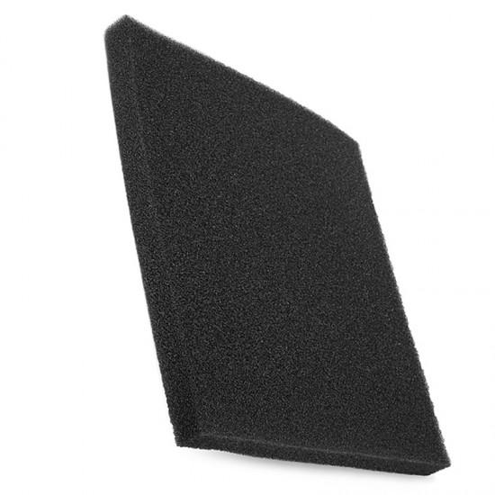 Siyah Biyolojik Sünger 50x25x5 cm İnce Gözenekli Akvaryum Malzemeleri