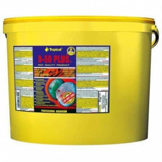 Tropical Discus D-50 Plus Flakes (Kovadan Bölme) Pul Yem