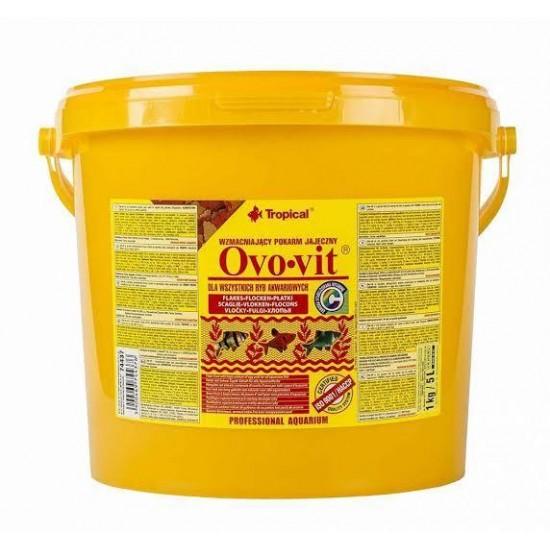 Tropical Ovo-vit Flake Yumurtalı Pul Yem (Kovadan Bölme)