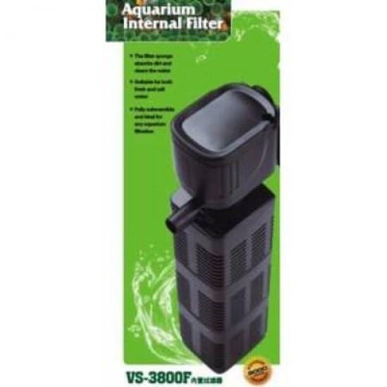 Venusaqua VS-3800F Akvaryum İç filtre 2800Lt 40W