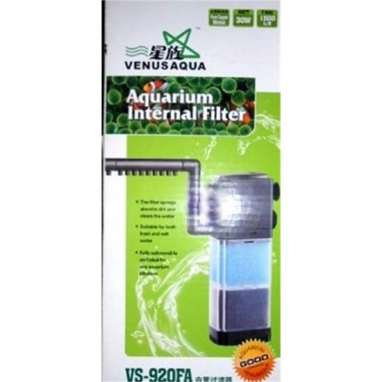 Venusaqua VS-920FA Akvaryum İç Filtre 1500 L/H 30W